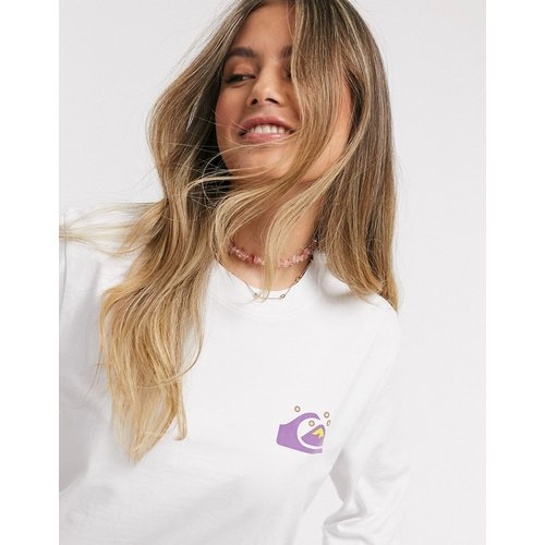 T-shirt crop top à manches mi-longues - Quiksilver - Modalova
