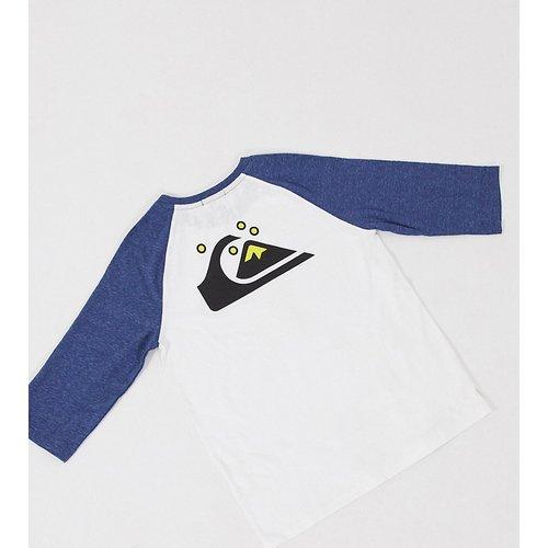 - T-shirt raglan à manches longues - - Exclusivité ASOS - Quiksilver - Modalova