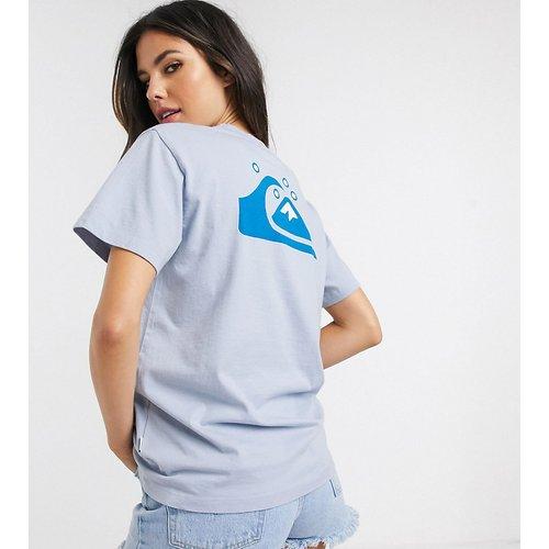 T-shirt standard avec imprimé dans le dos - -Exclusivité ASOS - Quiksilver - Modalova