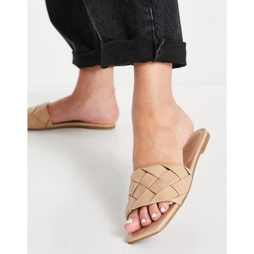 Eleah - Sandales plates tressées - Beige - Raid - Modalova