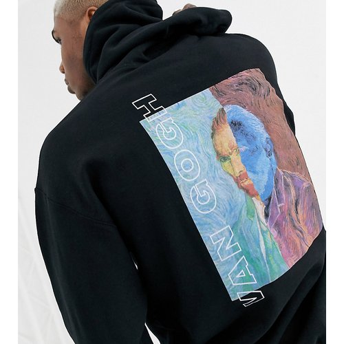 Hoodie oversize à imprimé Van Gogh - Reclaimed Vintage - Modalova
