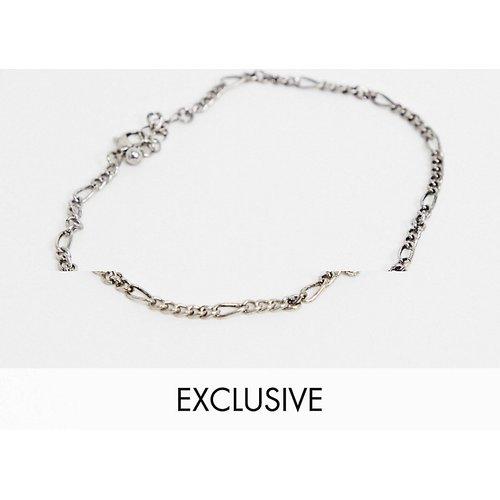 Inspired - Bracelet de cheville avec pendentif œil - Reclaimed Vintage - Modalova
