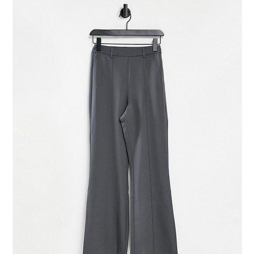 Inspired - Pantalon évasé taille haute - Gris - Reclaimed Vintage - Modalova