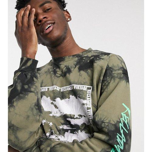 Inspired - Sweat-shirt à imprimé sur l'avant - Kaki - Reclaimed Vintage - Modalova