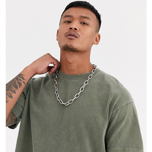 Inspired - T-shirt oversize surteint - Kaki - Reclaimed Vintage - Modalova
