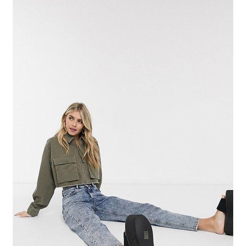 Inspired - Veste courte style chemise avec poches - Kaki - Reclaimed Vintage - Modalova