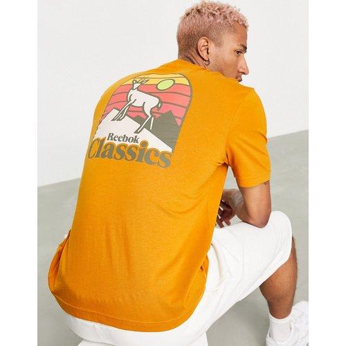 Classics - Camping - T-shirt imprimé au dos - Auburn - Reebok - Modalova