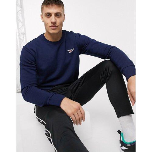 Sweat-shirt à petit logo - Bleu marine - Reebok Classics - Modalova
