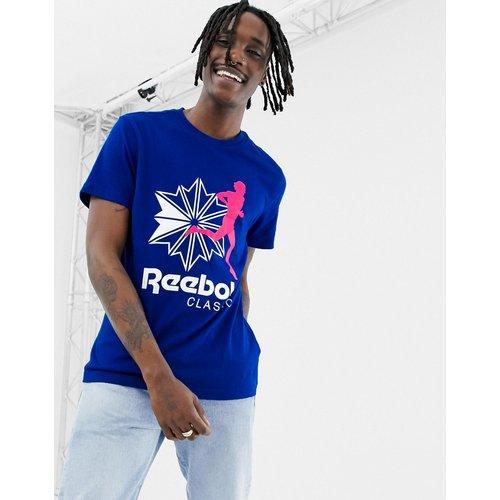 Classics - T-shirt à logo - Bleu DX0141 - Reebok - Modalova