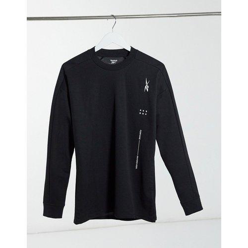 Sweat-shirt de sport avec poche - Reebok - Modalova