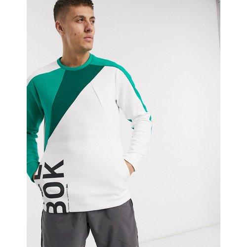 Sweat-shirt ras de cou color block - Reebok - Modalova