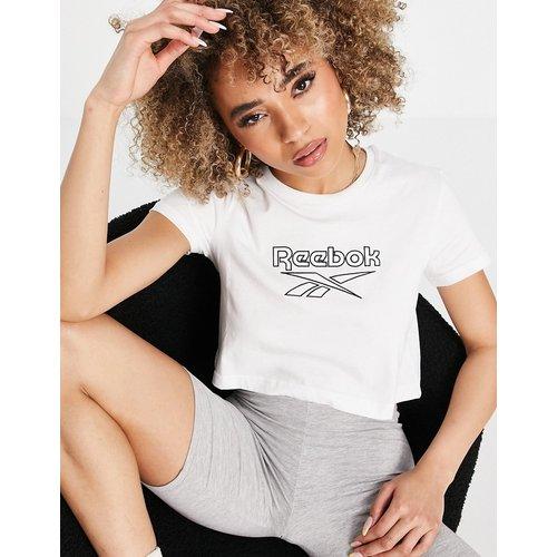 T-shirt à grand logo - Reebok - Modalova