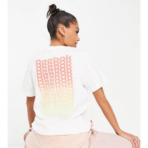 T-shirt avec block logo imprimé - Reebok - Modalova