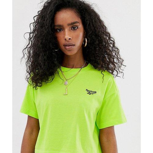 T-shirt court - fluo - Exclusivité ASOS - Reebok - Modalova