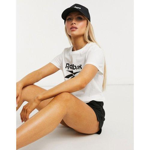 T-shirt crop top à grand logo - Reebok - Modalova