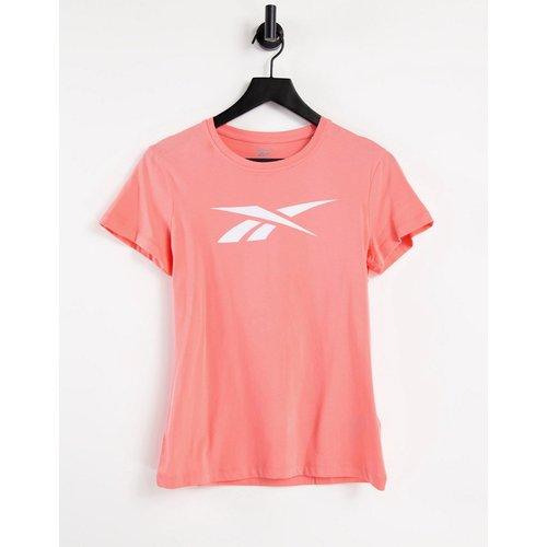 Training - T-shirt à logo - Corail - Reebok - Modalova