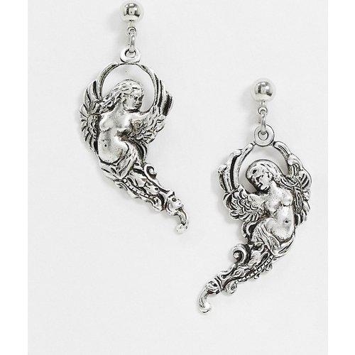Archangel - Boucles d'oreilles anges en plaqué argent - Regal Rose - Modalova
