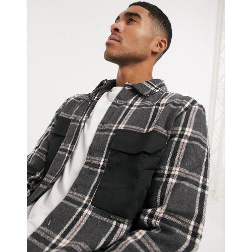 Chemise à carreaux avec deux poches - Religion - Modalova