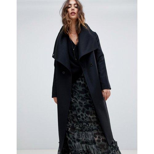 Manteau croisé à col drapé - Religion - Modalova