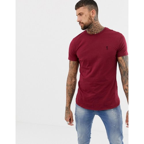 T-shirt long à logo - Bordeaux - Religion - Modalova