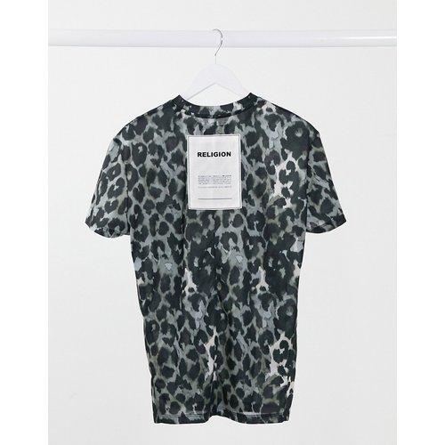 T-shirt oversize à imprimé animal - Religion - Modalova