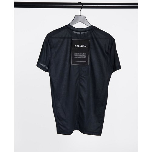 T-shirt oversize - délavé - Religion - Modalova
