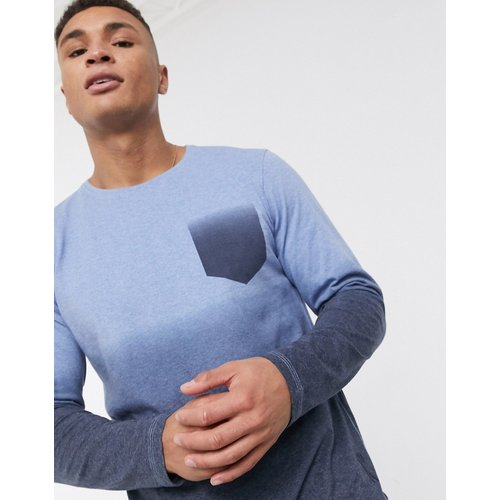 T-shirt à manches longues effet dégradé - Ringspun - Modalova