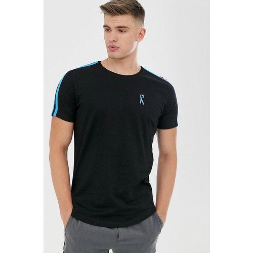 T-shirt avec bande fluo sur l'épaule - Ringspun - Modalova
