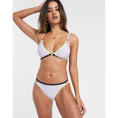 Bas de bikini à double lanière - Lilas - River Island - Modalova