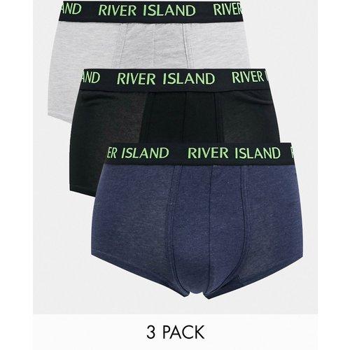 Lot de 3 boxers - River Island - Modalova