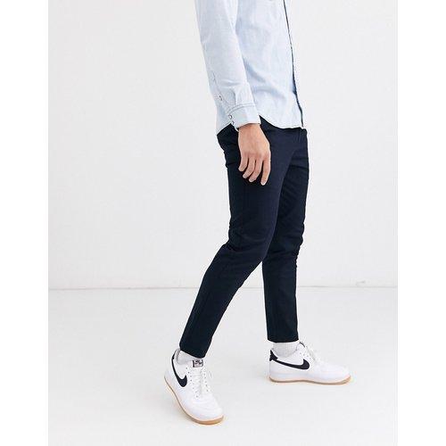 Pantalon chino ajusté - Bleu marine - River Island - Modalova