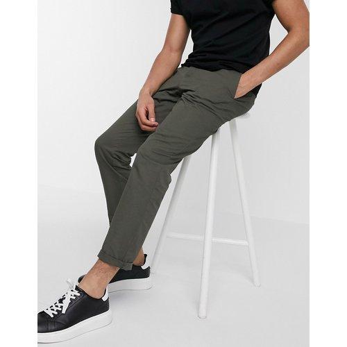 Pantalon chino ajusté - Kaki - River Island - Modalova