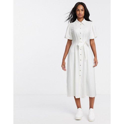 Robe chemise mi-longue à manches courtes - River Island - Modalova