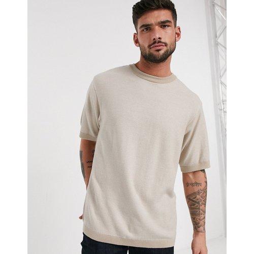 T-shirt oversize en maille - River Island - Modalova