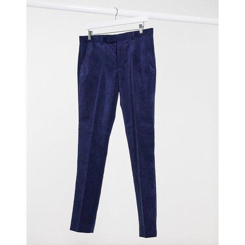 Pantalon de costume slim en velours côtelé - RUDIE - Modalova