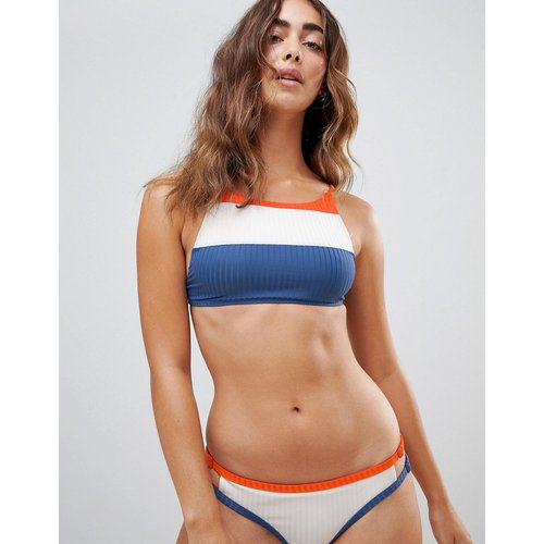 July Colour - Haut de bikini court color block - RVCA - Modalova