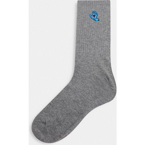 Chaussettes à petit motif main hurlante - Santa Cruz - Modalova