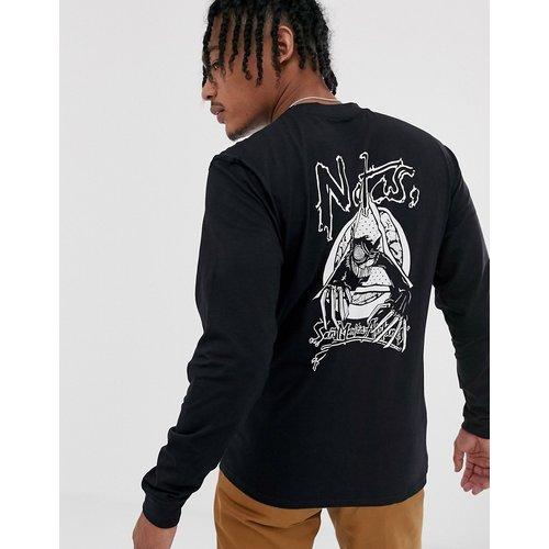 Natas Evil Cat - T-shirt à manches longues - Monochrome - Santa Cruz - Modalova