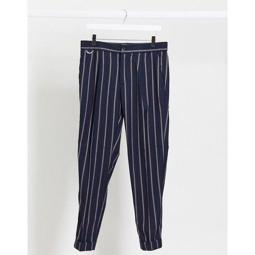 Blake - Pantalon chino chic plissé en laine mélangée - Scotch & Soda - Modalova