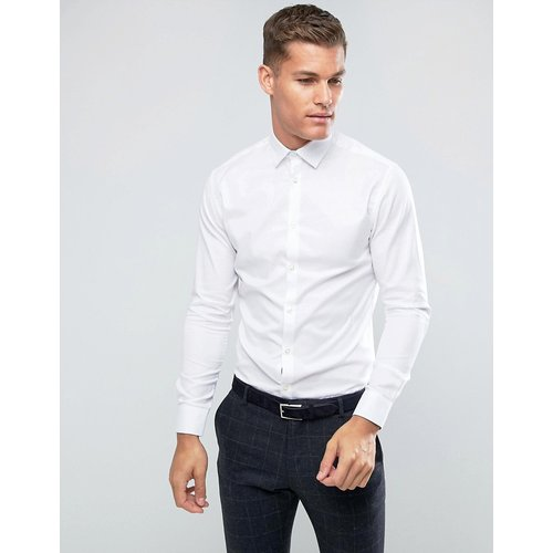 Chemise habillée ajustée facile à repasser - Selected Homme - Modalova
