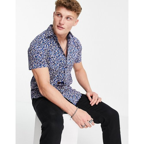 Dexter - Chemise manches courtes à fleurs - Selected Homme - Modalova