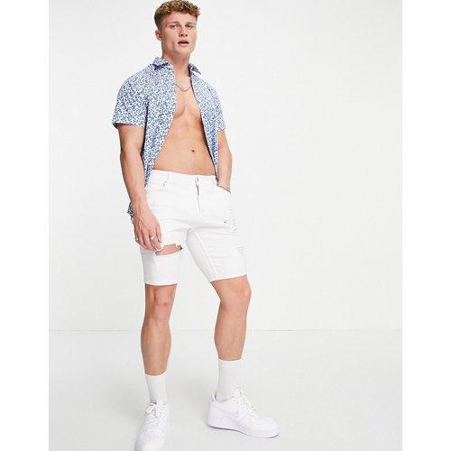 Kenny - Chemise manches courtes à fleurs - Selected Homme - Modalova