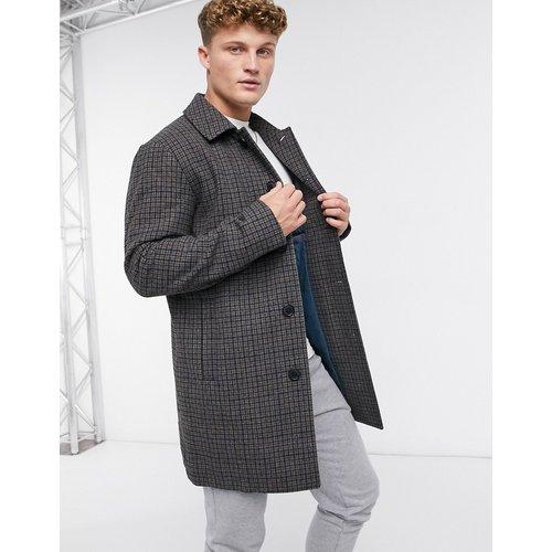 Manteau à carreaux - Selected Homme - Modalova