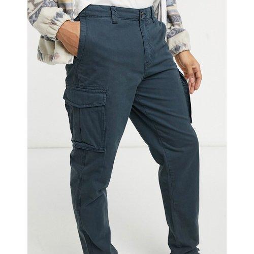 Pantalon cargo à ourlet resserré - Bleu - Selected Homme - Modalova