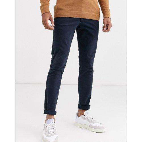 Pantalon chino coupe skinny - Bleu - Selected Homme - Modalova