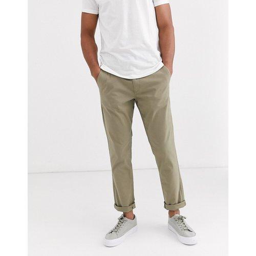 Pantalon chino droit stretch - Selected Homme - Modalova