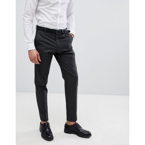 Pantalon de costume fuselé à fines rayures - Selected Homme - Modalova