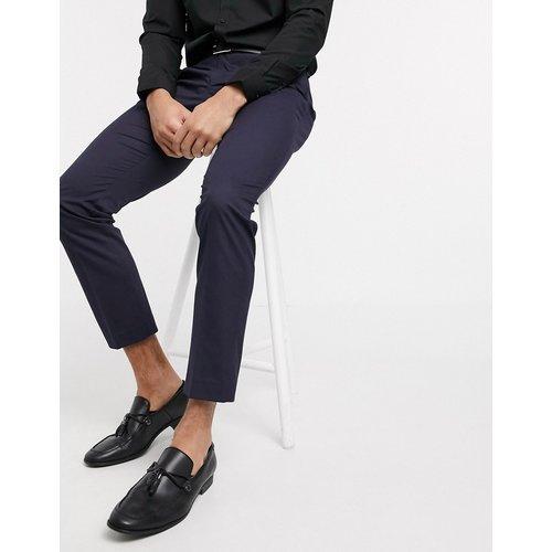 Pantalon de costume stretch coupe slim - Bleu - Selected Homme - Modalova