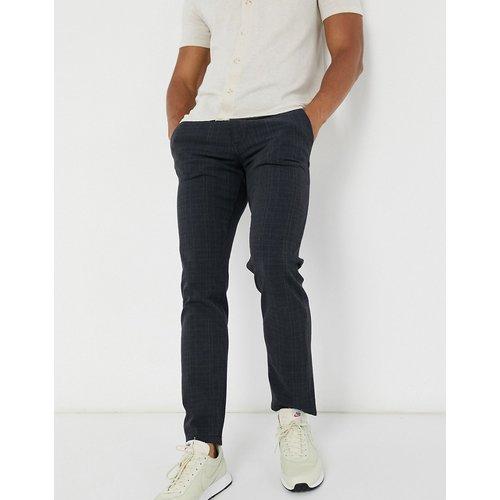 Pantalon slim à carreaux - Selected Homme - Modalova