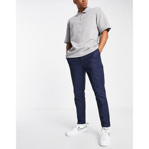 Pantalon slim fuselé en nylon - Bleu - Selected Homme - Modalova